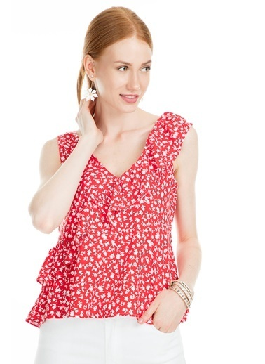 Lela Bluz Kırmızı